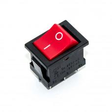Переключатель клавишный малый KCD1-1-202, 6A, 6pin, ON - ON