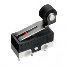 Микропереключатель mini на компьютерную мышь KW10-Z4P с роликом, 3 контакты
