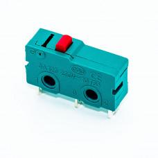 Микропереключатель средний концевой KW4-Z1F с кнопкой, 3pin