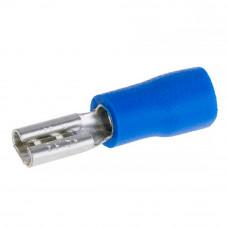Клемма гнездо 2.8мм FDD2-110, кабель 1.5 - 2.5мм2, синяя