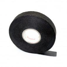 Изолента матерчатая COROPLAST TAPE велюровая антискрип, 19мм, 25м, черная