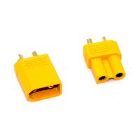 Соединитель проводов 2pin, XT30, 30A, комплект (штекер и гнездо)
