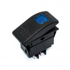 Переключатель авто, кулисный RK1-06N, подсветка 12В, 4pin, 35A