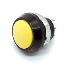 Кнопка антивандальная GQ12BJ, выпуклая, на замыкание, 2 контакты