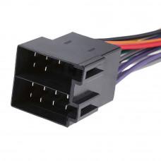 Разъём магнитолы ISO, штекер с кабелем (ISO0002B - Blaupunkt)