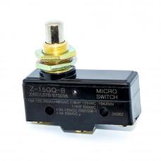Микропереключатель Z-15GQ-B промышленный концевой (кнопка), 3pin