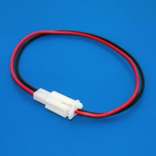 Разъем питания на 2 контакта, комплект (штекер + гнездо), с кабелем