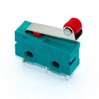 Микропереключатель средний концевой KW4-Z5F с роликом, 3pin