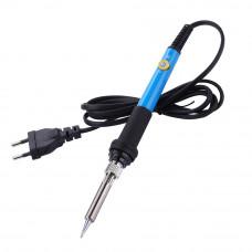 Паяльник HandsKit 936, 60W, с регулятором температуры (200 - 450°C) синяя ручка