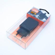 Сетевое зарядное устройство MX-HC22, MOXOM (2 USB, 2.4A, auto-id), с кабелем micro USB