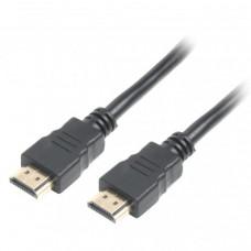 Шнур HDMI (штекер - штекер), Gold, v.2.0, длина - 10.0м, черный