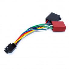 Адаптер авто, для магнитолы JVC / KENWOOD 2014 NEW (radio) - разъём ISO