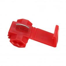 Клемма соединительная, 801P3 для врезания, на кабель 0.5 - 1.5мм2, 10A, красная