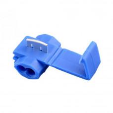 Соединительная клемма 802P3, для врезания, кабель 1.5 - 2.5мм2, синяя