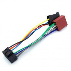 Адаптер авто, для магнитолы JVC, разъём FX-220 (radio) - разъём ISO