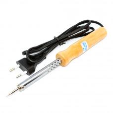 Паяльник 40Вт, ZD-WD-40W, 220V, с деревянной ручкой