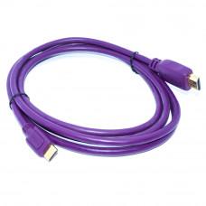 Шнур mini HDMI (штекер - штекер mini C), Gold, длина - 2.0м, пластик